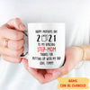 Putting Up With My Dad - Personalized Custom Coffee Mug - Funny Mother's Day Gifts For Stepmom