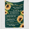 GRANDDAUGHTER - ONCE UPON A TIME - FLEECE BLANKET