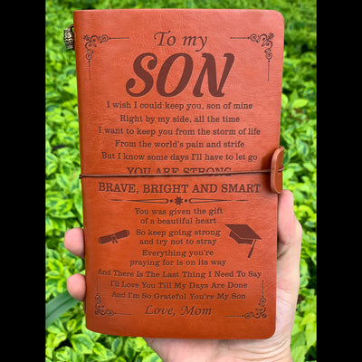 SON MOM - GRADUATION SON - SON GOING TO COLLEGE - VINTAGE JOURNAL