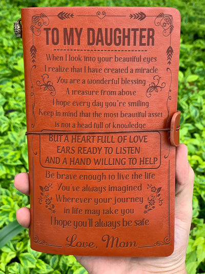 DAUGHTER MOM - A WONDERFUL BLESSING - VINTAGE JOURNAL