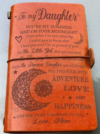 DAUGHTER - MOM - YOU'RE MY SUNSHINE - VINTAGE JOURNAL