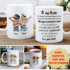 No One Can Replace You - Personalized Custom Coffee Mug - Gifts For Bestie