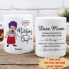 Happy Mother's Day - Personalized Custom Coffee Mug