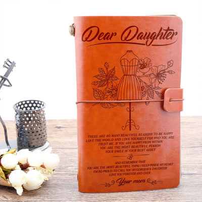 Daughter mom - The best asset - Vintage journal