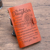 DAUGHTER - MOM - BE YOURSELF - VINTAGE JOURNAL