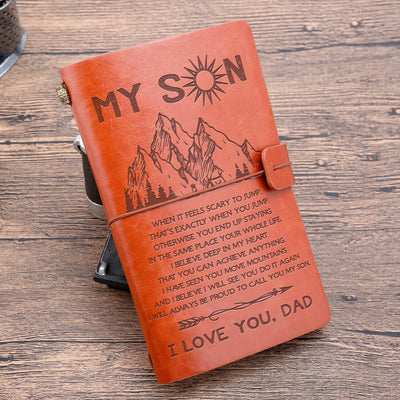SON DAD - MOVE MOUNTAINS - VINTAGE JOURNAL