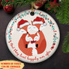 And They Lived Happily Ever After 2020 – Ceramic Christmas Ornaments