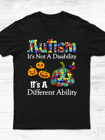 Autism - It's a Different Ability - Classic Unisex T-shirt