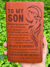 SON DAD - STAY STRONG & DO YOUR BEST - VINTAGE JOURNAL
