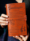 GRANDDAUGHTER - GRANDMA - GO FORTH AND PURSUE ALL YOUR DREAMS - VINTAGE JOURNAL