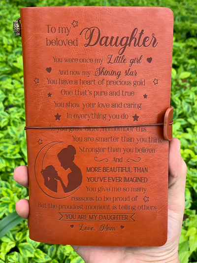 DAUGHTER MOM - MY LITTLE GIRL - VINTAGE JOURNAL
