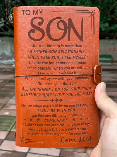 SON DAD - JUNIOR VERSION OF MINE - VINTAGE JOURNAL