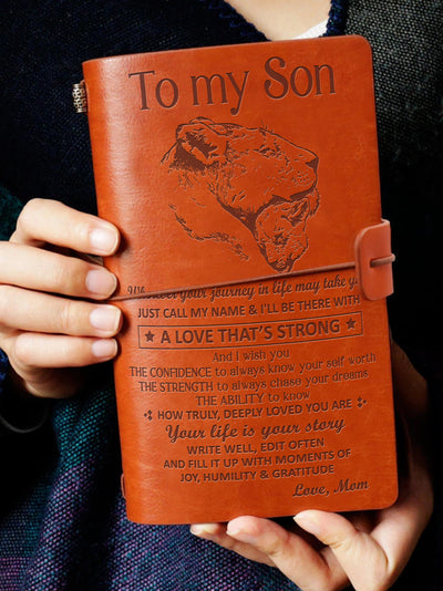 MOM SON - JUST CALL MY NAME - VINTAGE JOURNAL