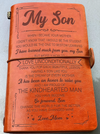 SON MOM - GO FORWARD, SON - CHANGE THE WORLD FOR THE BETTER - VINTAGE JOURNAL