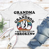 A Bond That Can't Be Broken - Classic Unisex T-shirt - Grandma and grandson shirts