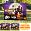 Personalized Custom Yard Sign - Happy Haunted Halloween