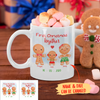 First Christmas Together - Personalized Custom Coffee Mug - Christmas Gifts