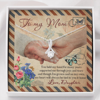 Held My Hand - Alluring Beauty Necklace - Gifts For Mom