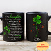 Daughter Mom - My Lucky Charm - Personalized Custom Coffee Mug