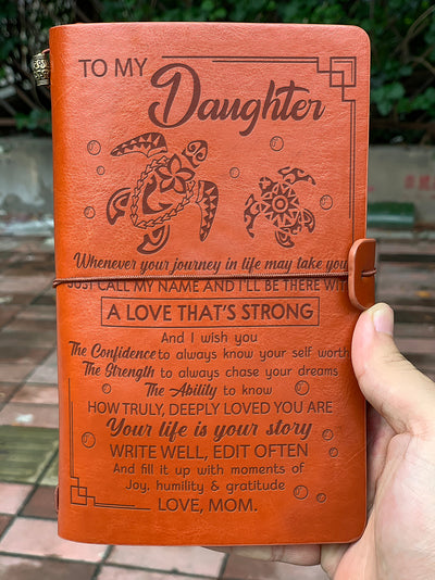 MOM DAUGHTER - JUST CALL MY NAME - VINTAGE JOURNAL