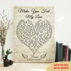 Make You Feel My Love - Personalized Custom Matte Canvas - Memorial Wall Art