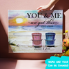 You & Me - Personalized Custom Canvas