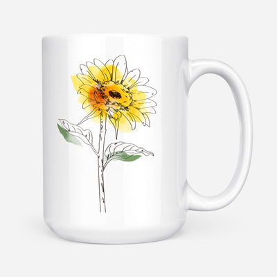 To My Daughter - in Your Heart - Coffee Mug