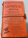 GRANDSON GRAMMY - BELIEVE IN YOURSELF - SENIOR 2020 - VINTAGE JOURNAL