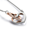 GRANDDAUGHTER - TO INFINITY AND BEYOND - INTERLOCKING HEARTS NECKLACE