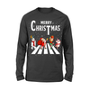 Christmas Abbey Road - Classic Unisex Long Sleeve T-shirt