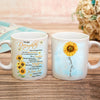 Daughter Mom - Be a Sunflower - Coffee Mug