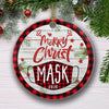Merry Christmask 2020 - Ceramic Christmas Ornaments