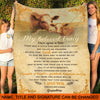 Grandma Granddaughter - Once upon a time - Blanket