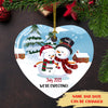 We're Expecting - Personalized Custom Ceramic Ornament - Christmas Gifts