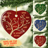 Family Tree - Personalized Ceramic Christmas Ornaments
