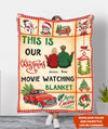 Christmas Together - Personalized Custom Fleece Blanket