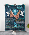 By Your Side - Fleece Blanket - Gifts For Wife