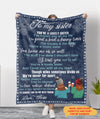 A Lovely Sister - Personalized Custom Fleece Blanket - Gifts For Sister