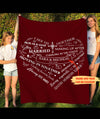 I See Us Together - Personalized Custom Fleece Blanket - Anniversary Gifts
