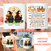 Thank You For Standing By My Side - Personalized Custom Mug - Gift For Bestie, Halloween Gift For Best Friends