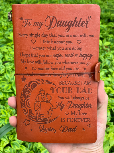 DAUGHTER DAD - I WILL FOLLOW YOU - VINTAGE JOURNAL