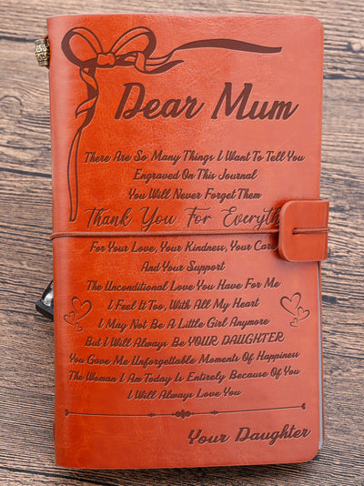 DEAR MUM - ALWAYS LOVE YOU - VINTAGE JOURNAL