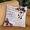 The Best Journey In Life - Linen Pillow - Gifts For Mom-to-be