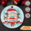 My First Pandemic - Personalized Ceramic Christmas Ornaments