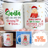 Baby Coming To Town - Personalized Custom Coffee Mug - Gifts For Mom/Dad