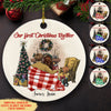 First Christmas Together - Personalized Ceramic Christmas Ornaments