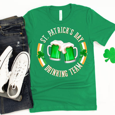 St. Patrick's Day Drinking Team - Unisex T-shirt - Gifts For Teammates
