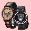 WOOD WATCH - TO MY MAN - GIFTS FOR HIM, ANNIVERSARY GIFTS, BIRTHDAY GIFTS - 6874