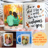 Autumns And You - Personalized Custom Coffee Mug - Couple Mug