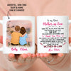 Thank you Mom - Personalized custom mug - Sentimental Gifts for Mother-in-law